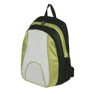 BGB203-Stylish-Backpack-Angle-View-Green