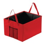 BGB86-Car-Boot-Organiser-Angle-View-Red