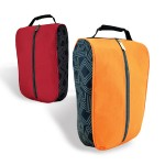 SE-014-Shoe-Bag-088-Front-View-Red-Orange